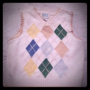 Children's place 6-9 mo sweater vest
